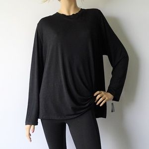 Ideology Active Knotted Long Sleeve T-Shirt NWT